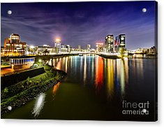Dusseldorf Media Harbor Skyline Acrylic Print