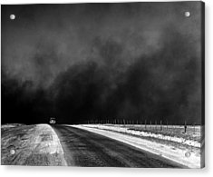 Dust Bowl In The Texas Panhandle 1936 Acrylic Print