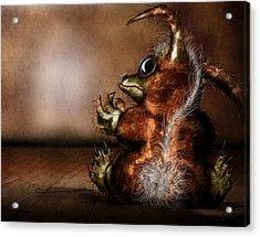 Dust Bunny Acrylic Print