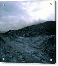 Dust From A Fly-ash Tip Acrylic Print
