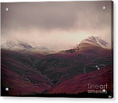 Dusting Acrylic Print by Andy Heavens