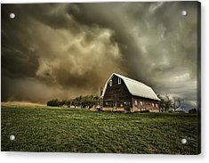 Dusty Barn Acrylic Print