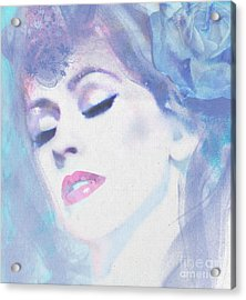 Dusty Blues Acrylic Print