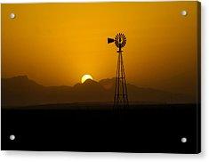 Dusty Sunset Acrylic Print