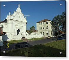 Dutch Reformed Church, C.1755 Acrylic Print by Panoramic Images