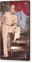Duty To God And Country Acrylic Print