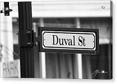 Duval Street Acrylic Print