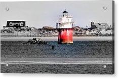 Duxbury Pier Light Acrylic Print