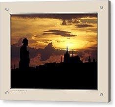 Acrylic Print featuring the photograph Dvorak And Skyline by Pedro L Gili