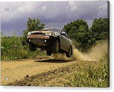 Dw Rally Team Takes Flight Acrylic Print