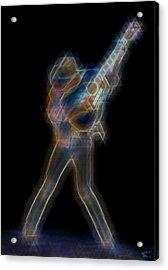 Dwight Noise Acrylic Print by Kenneth Armand Johnson