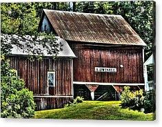 Dwinell's Barn Acrylic Print