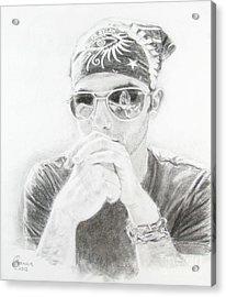 Dylan Fan Acrylic Print