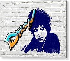 Dylan Graffiti Acrylic Print