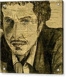 Dylan The Poet Acrylic Print by Debi Starr
