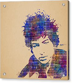 Dylan Watercolor Acrylic Print