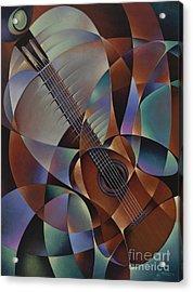 Dynamic Guitar Acrylic Print