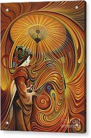 Dynamic Oriental Acrylic Print
