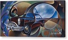 Dynamic Route 66 Acrylic Print