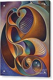 Dynamic Series #23 Acrylic Print by Ricardo Chavez-Mendez