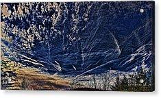 Dynamic Skyscape Acrylic Print by Tom Culver