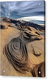 Dynamic World  I  Acrylic Print by Jean Paul Thierevere