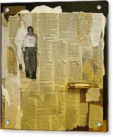 Dziadzia Acrylic Print