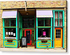 Shop Window Acrylic Print by Chris Berry