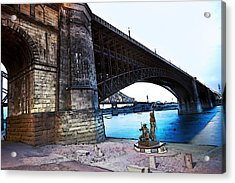 Eads Bridge 2 Acrylic Print