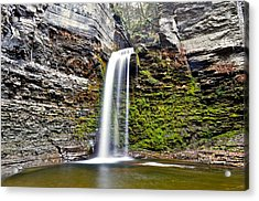 Eagle Cliff Falls Acrylic Print by Frozen in Time Fine Art Photography