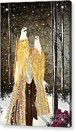 Winter Dress Acrylic Print
