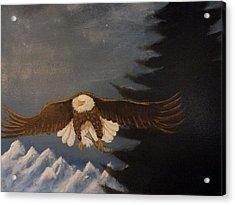 Eagle Flying Acrylic Print