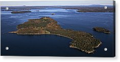 Eagle Island, Penobscot Bay Acrylic Print by Dave Cleaveland