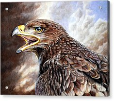 Eagle Cry Acrylic Print