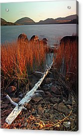Eagle Lake At Autumn Acrylic Print by Juergen Roth