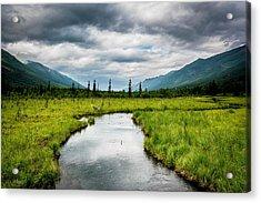 Eagle River Nature Center Acrylic Print