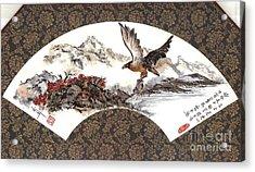 Eagle With Fish Acrylic Print