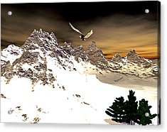 Eagles' Peak Acrylic Print