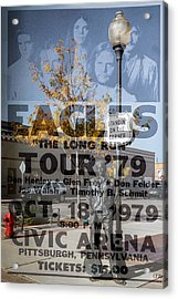 Eagles The Long Run Tour Acrylic Print