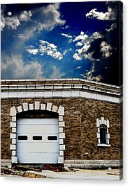 Acrylic Print featuring the photograph Early 1900s St. Louis Firehouse by Maggy Marsh