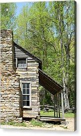 Early Appalachian Home Acrylic Print by Mark Minier