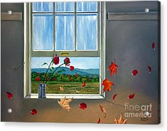 Early Autumn Breeze Acrylic Print by Christopher Shellhammer