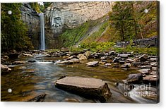 Early Autumn Morning At Taughannock Falls Acrylic Print