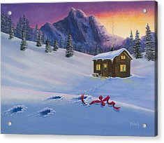 Early Christmas Morn Acrylic Print by Jack Malloch