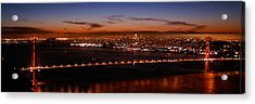Early December Morning Pano Acrylic Print