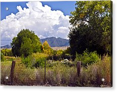Early Fall Acrylic Print by Don Durante Jr