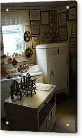 Early Fifty's Kitchen Acrylic Print by Randall Branham