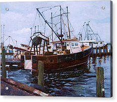 Early Harbor Morning Acrylic Print