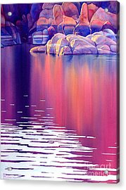 Early Light Acrylic Print by Robert Hooper