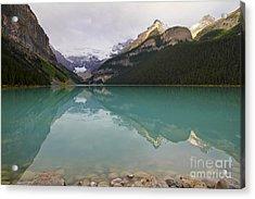 Early Morning At Lake Louise Acrylic Print by Teresa Zieba